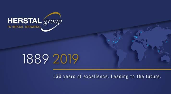 Herstal Group 1889 to 2019 image