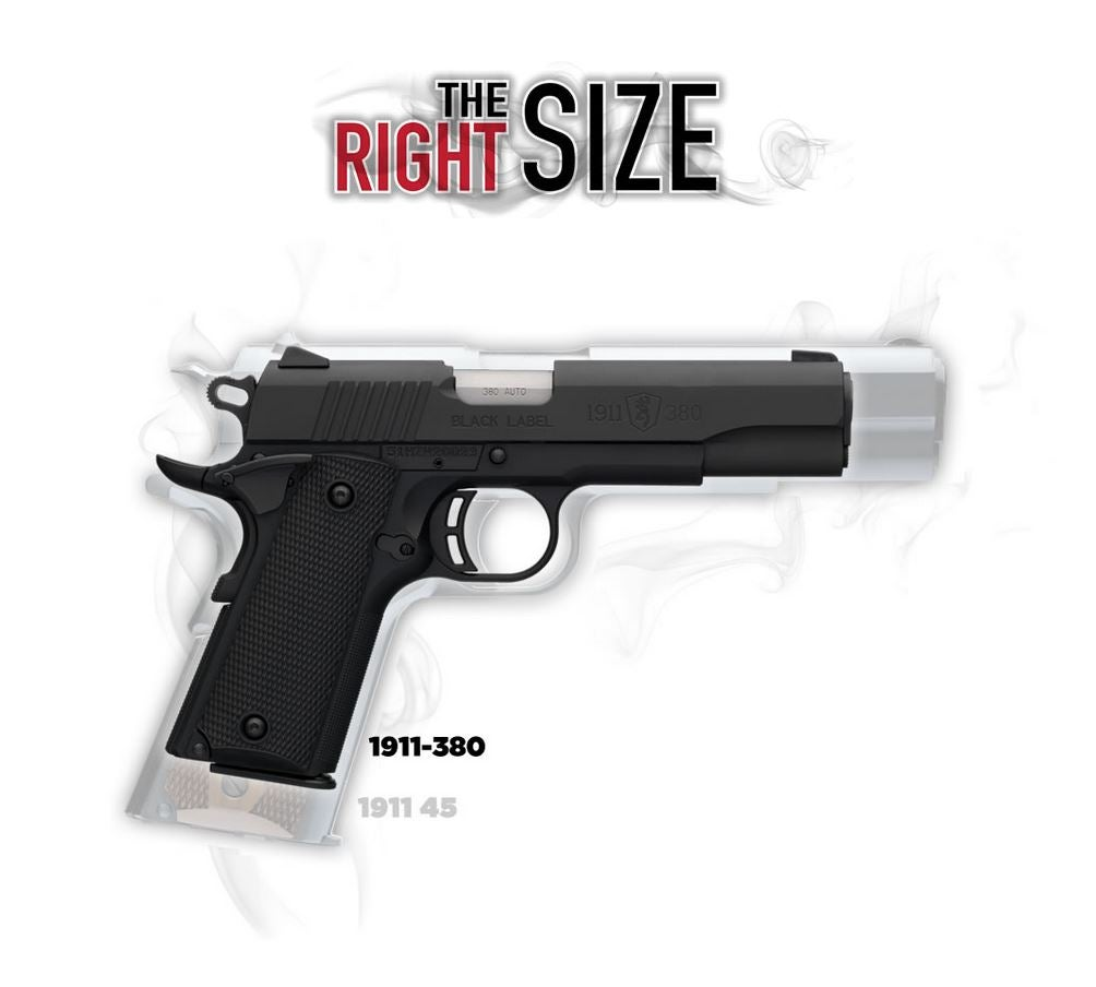 The Right Size 1911-380