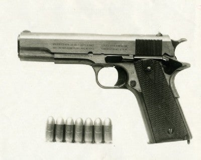 The History of the 1911 Pistol