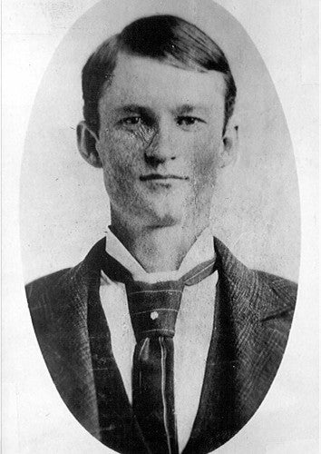 John Moses Browning as a young man.