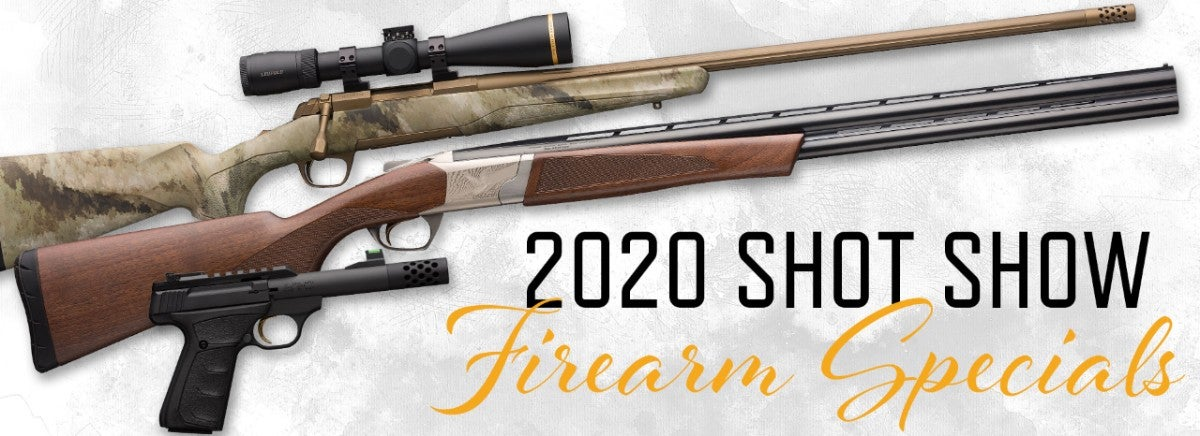 2020 Firearms SHOT Show Special banner and link