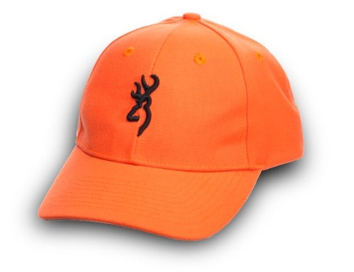 Youth fit blaze orange color classic six panel baseball cap with hook and  loop closure. 429af17a4eb
