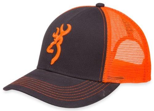033907d0c00 Flashback Cap - Charcoal Neon Orange