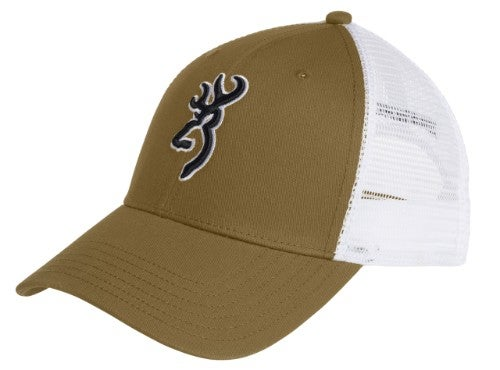 625fedfb980fec Snap closure and cool mesh back make this the perfect three season cap.  Loden in front with white mesh in the back. White outlined Buck Mark logo  sets this ...