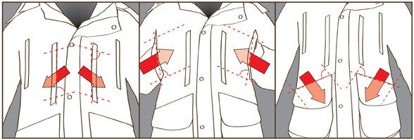 Angle Entry Pockets