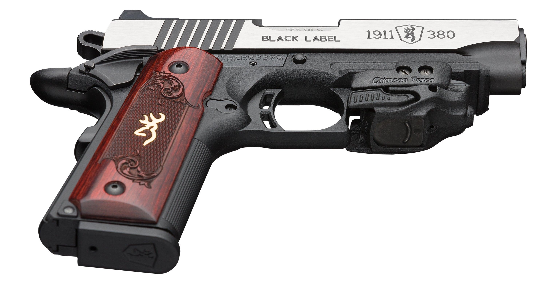 1911-380 Black Label Medallion Laser