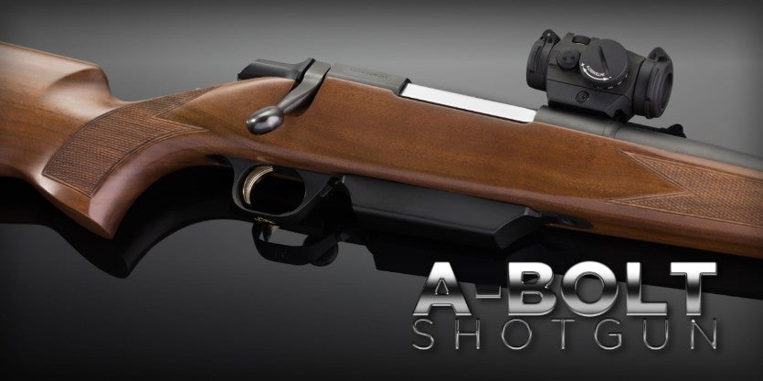 A-Bolt Bolt Action Shotguns