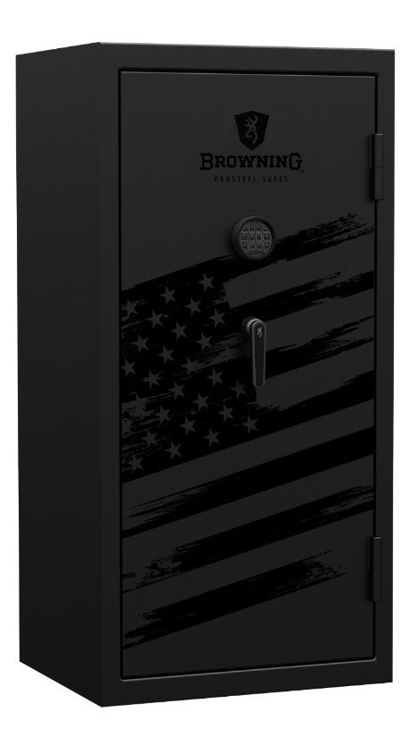 Black Gun Safe In Living Room Decor: Mark V Blackout