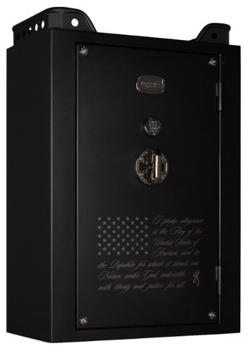 Black Gun Safe In Living Room Decor: Black Label