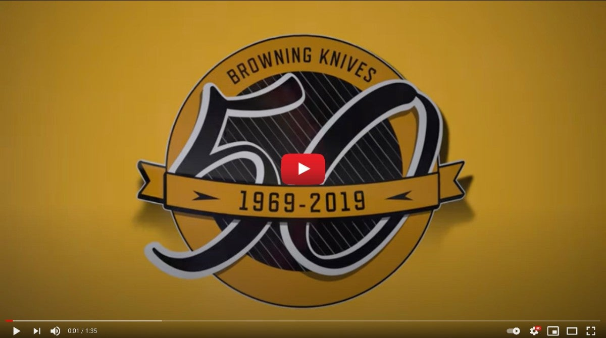 Browning Knives 50th Anniversary IMAGE