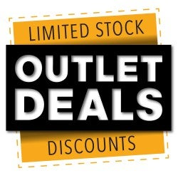 Outlet Deals artwork with link to Outlet Deals