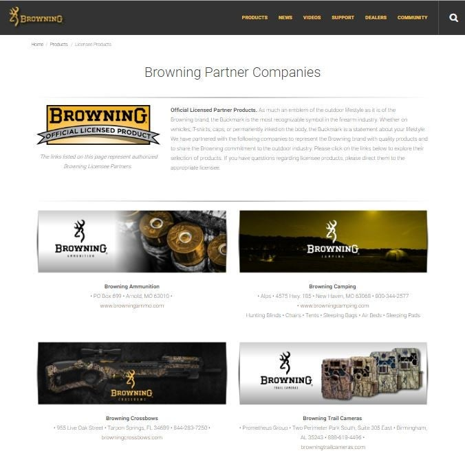 Thatu0027s Not All, Special Browning Branded Products Will Embellish Your  Lifestyle With Home Decor, Gifts And More. These Partners Share The Browning  ...